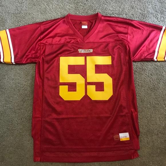 size 40 4c6c0 87a88 NCAA Junior Seau USC Trojans jersey Men's